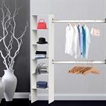 Kleiderschrank - begehbar - weiß