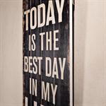 Shabby Wand Bild Board aus Holz - Best Day Of My L Pic:1