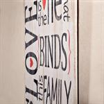 Shabby Wand Bild Board aus Holz - Love Together Pic:1