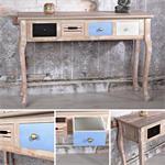 Anrichte  Schreibtisch Tisch im Shabby Look - 7024