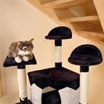2 Colours 2.03 m Jumbo XXL Scratch Tree Cats Scratching Post Game Sisal Black Pic:2