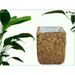 Flower Plant Pot Planter Natural Wicker Woven Sea Grass Floor Vase