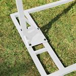 Polyrattan Swing Chair Hängesessel - weiß Pic:5