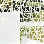 Polyrattan Swing Chair Hängesessel - weiß Pic:4
