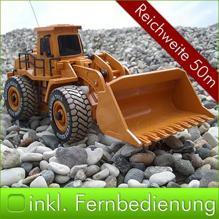 RC Excavatpr Digger Bagger / Bulldozer Kids Children Remote Control Toy Set