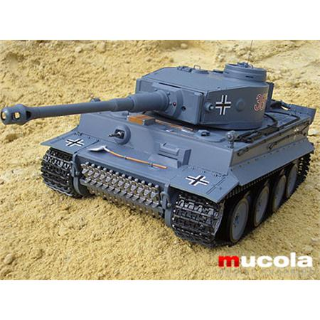 RC PANZER - GERMAN TIGER - 1:16 R/C SCHUßFUNKTION
