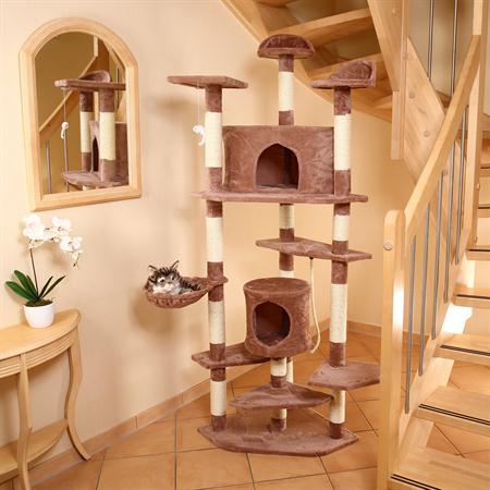 203 cm Tall Cat Scratching Post Tree Scratcher Pet Animal Furniture Sisal