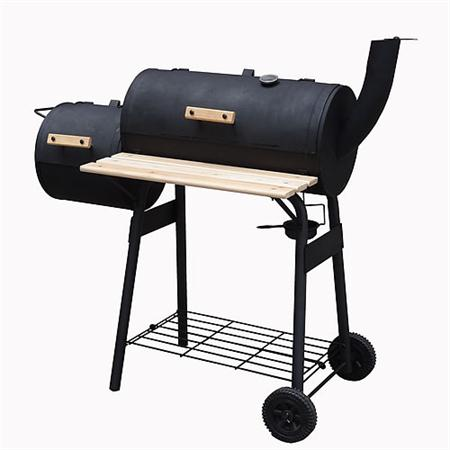 XL Smoker BBQ Grill Cart Charcoal Grill Barbecue BBQ Stand Smoker Oven