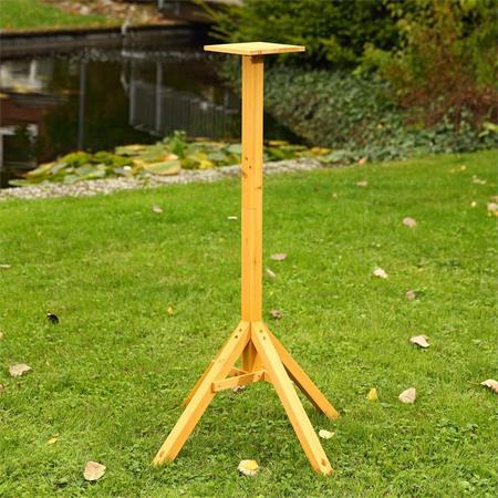 Vogelhausständer Ständer Holz imprägniert