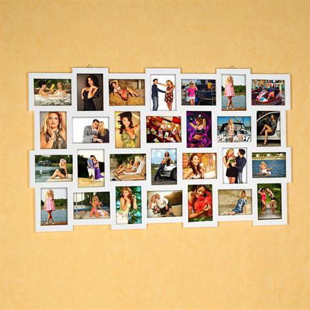 28 Photos Picture Frames Gallery Photo Frame Wooden Collage White 10x15 Wall