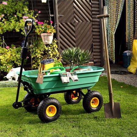 Trolley Rolling Cart Equipment Cart Wheelbarrow Handcart Dumpcart