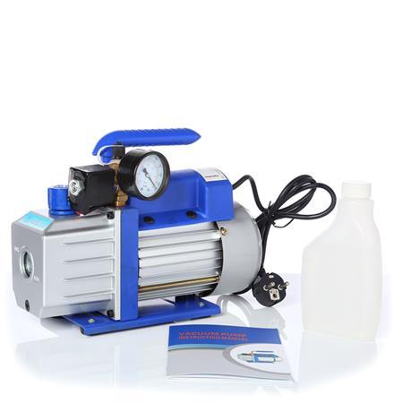 71 l/min Vakuumpumpe Unterdruckpumpe mit Messuhr
