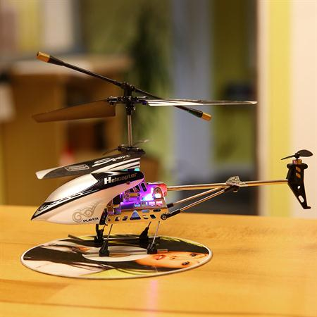 RC 3 Channel Mini Chopper 20 CM Helicopter Gyro Infrared IR Black