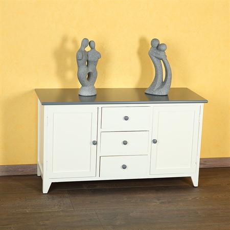 lowboard kommode fernsehunterschrank medienschrank. Black Bedroom Furniture Sets. Home Design Ideas