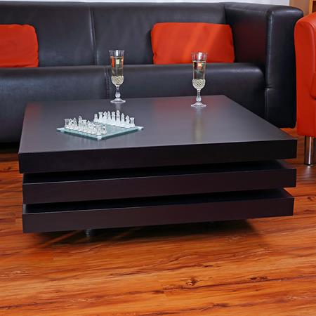 couchtisch wohnzimmertisch seidenglanz schwarz. Black Bedroom Furniture Sets. Home Design Ideas
