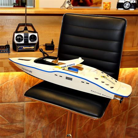 63CM RC Racing Speed Boat 2 x 380 MOTOR Ship Remote Controlled Speedboat