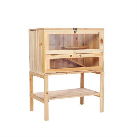 4 Etagen Kleintierstall  Mäusekäfig aus Holz