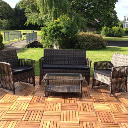 poly rattan gartenlounge sitzecke sitzgarnitur. Black Bedroom Furniture Sets. Home Design Ideas