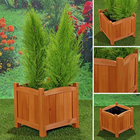 Blumenkübel Pflanzkasten Blumenkasten aus Holz