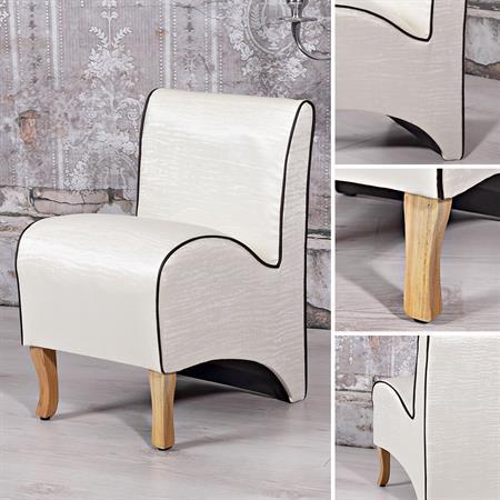 Mini Polster Sessel Stuhl - Beige