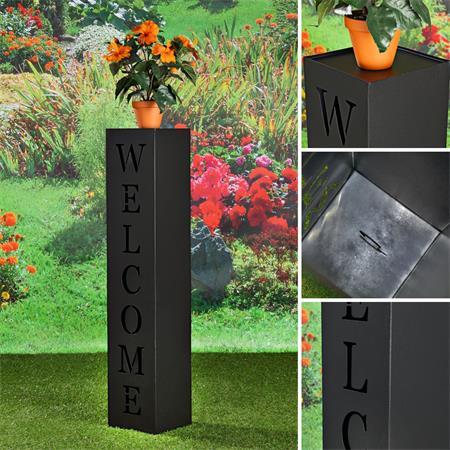 garten dekos ule aus verzinktem blech welcome. Black Bedroom Furniture Sets. Home Design Ideas