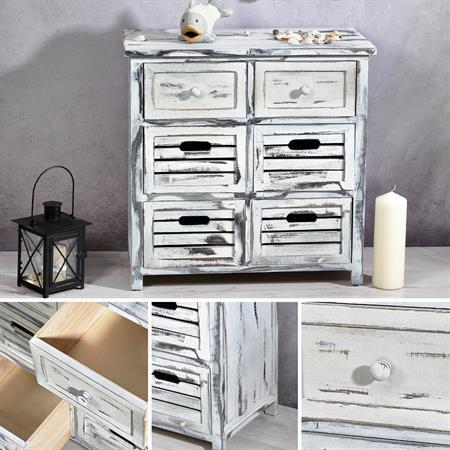 kommode sideboard schrank shabby. Black Bedroom Furniture Sets. Home Design Ideas