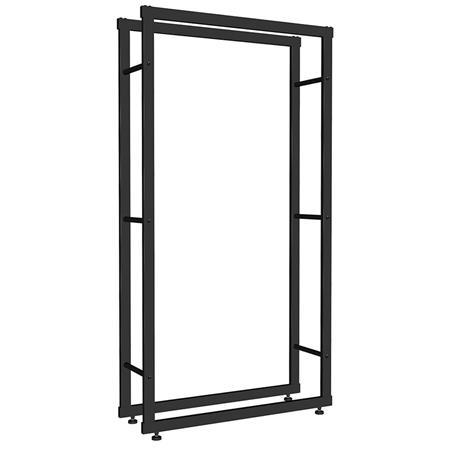 150x80CM Kaminholzständer Brennholzregal