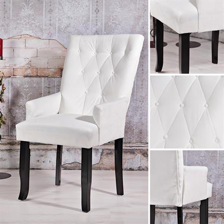 Wohnzimmer Relax Polstersessel in Weiß