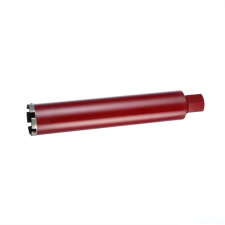 Bohrkrone Ø 132 mm - Rot