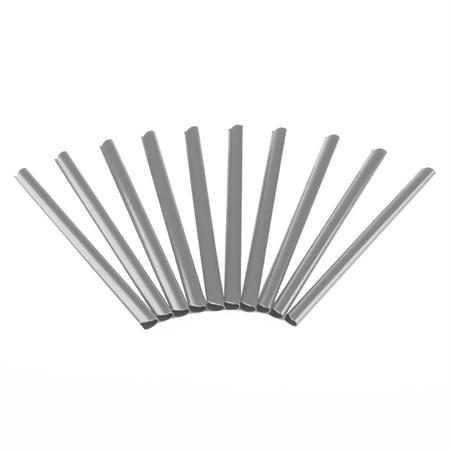 Klemmschienen Clips PVC Sichtschutz - Grau