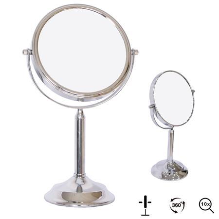 10-fach Kosmetikspiegel Standspiegel