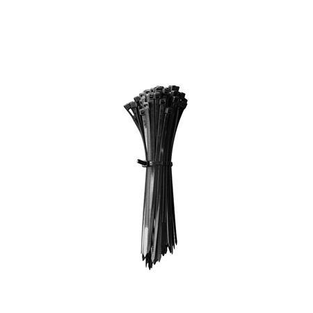 Kabelbinder - Schwarz - 150x3.6 mm - 100 Stück