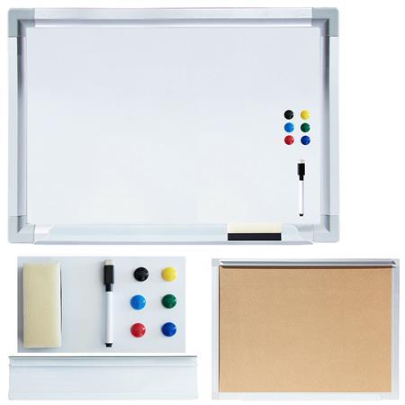 White Board inkl. Zubehör - 60 x 40 cm