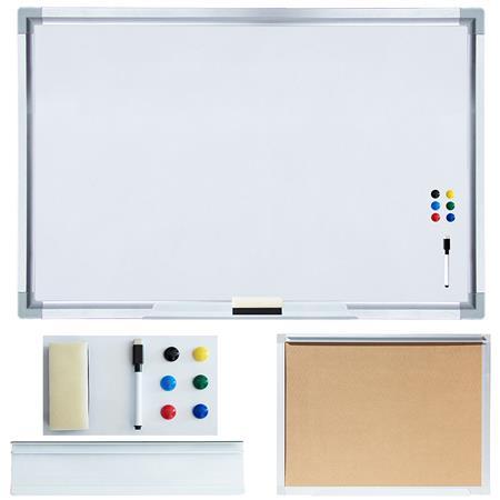 White Board inkl. Zubehör - 60 x 90 cm