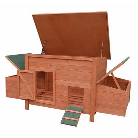 XXL Hühnerhaus Hühnerstall aus Holz
