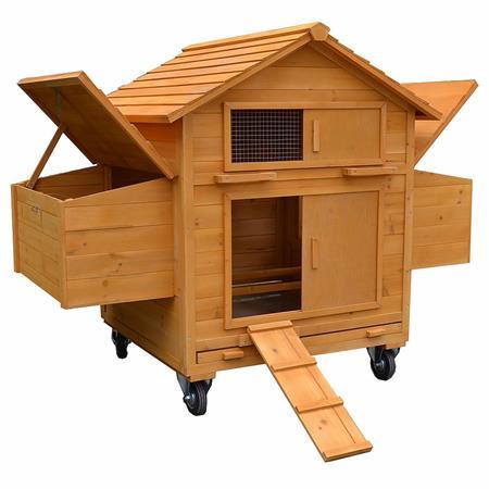 Hühnerhaus / Hühnerstall mit Transportrollen