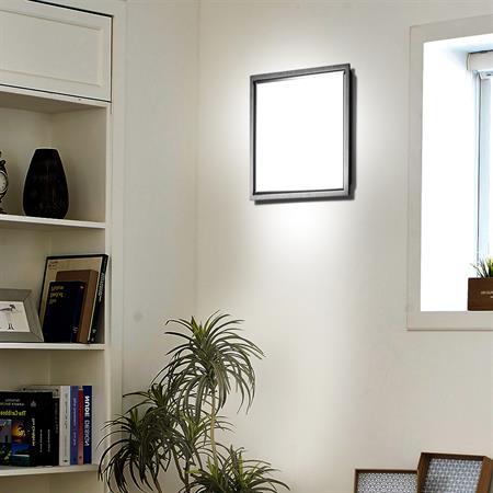 LED Lampe - 30 x 30 cm - weiß