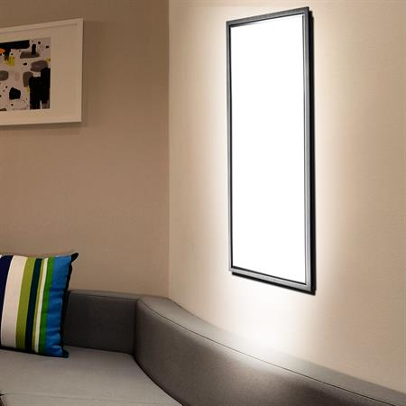 LED Lampe - 30 x 120 cm - weiß