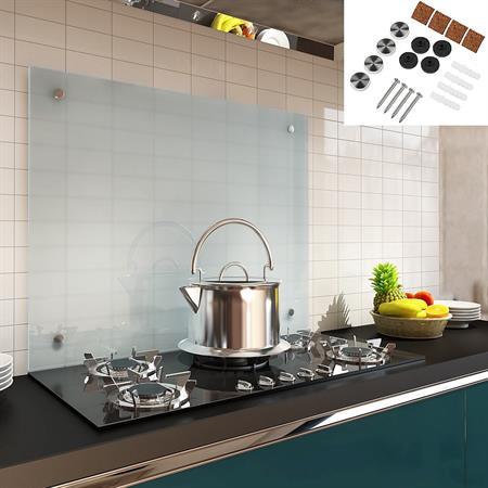 70x60CM Milchglas Küchenrückwand Spritzschutz