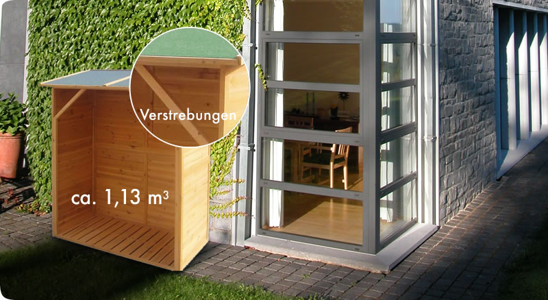 Elegante Gartenkiste / Auflagenbox