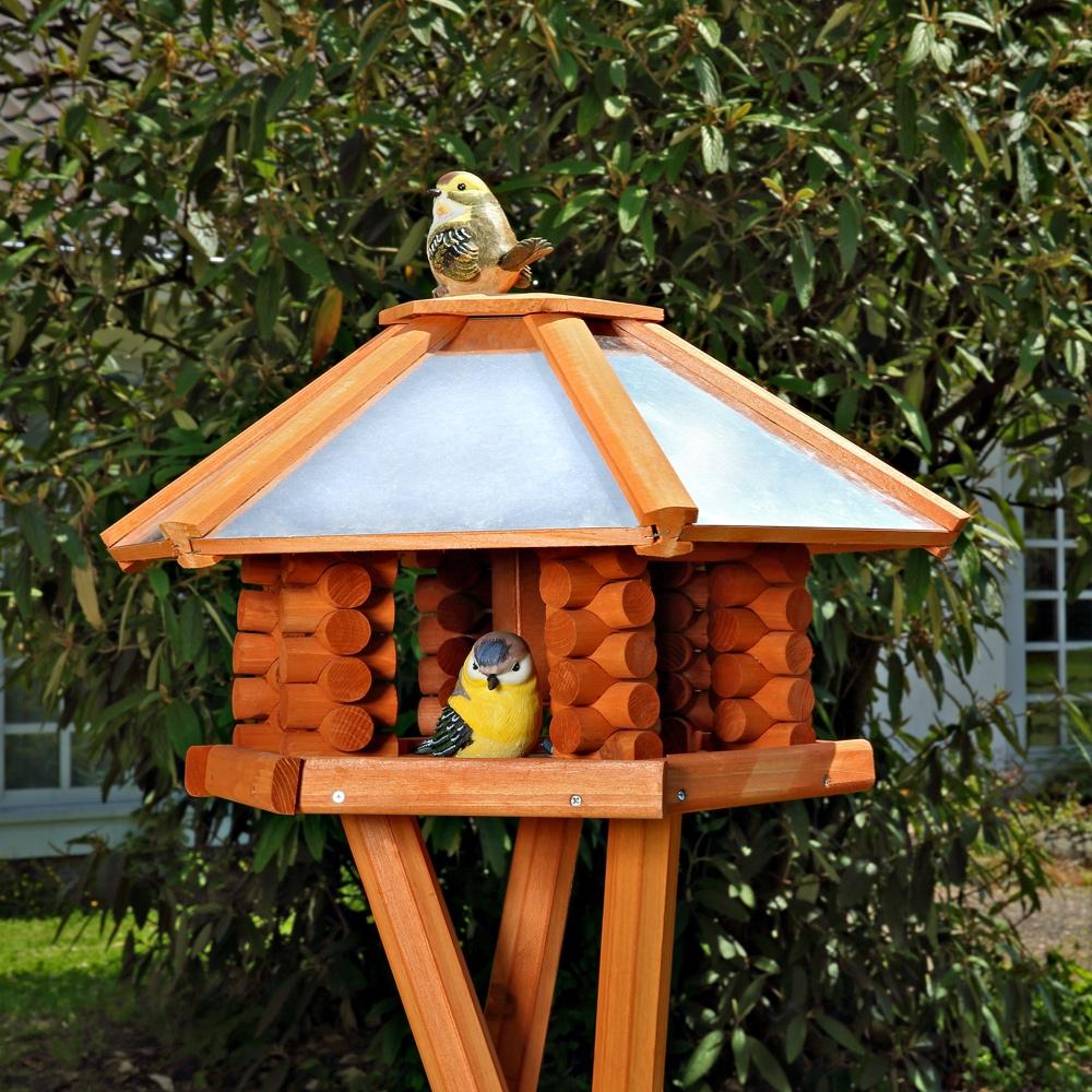 Vogelhaus Vogelfutterhaus Vogelhäuser Vogelhäuschen Vogel Futterhaus Holz   eBay