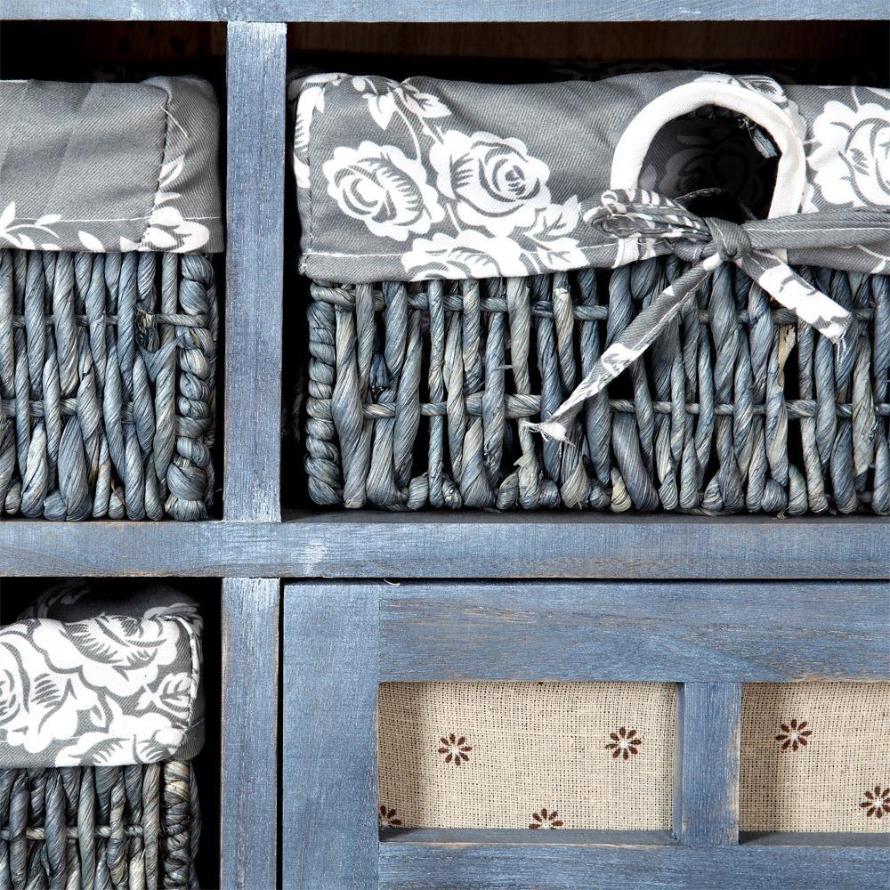 landhaus kommode k chenschrank flur regal sideboard shabby. Black Bedroom Furniture Sets. Home Design Ideas