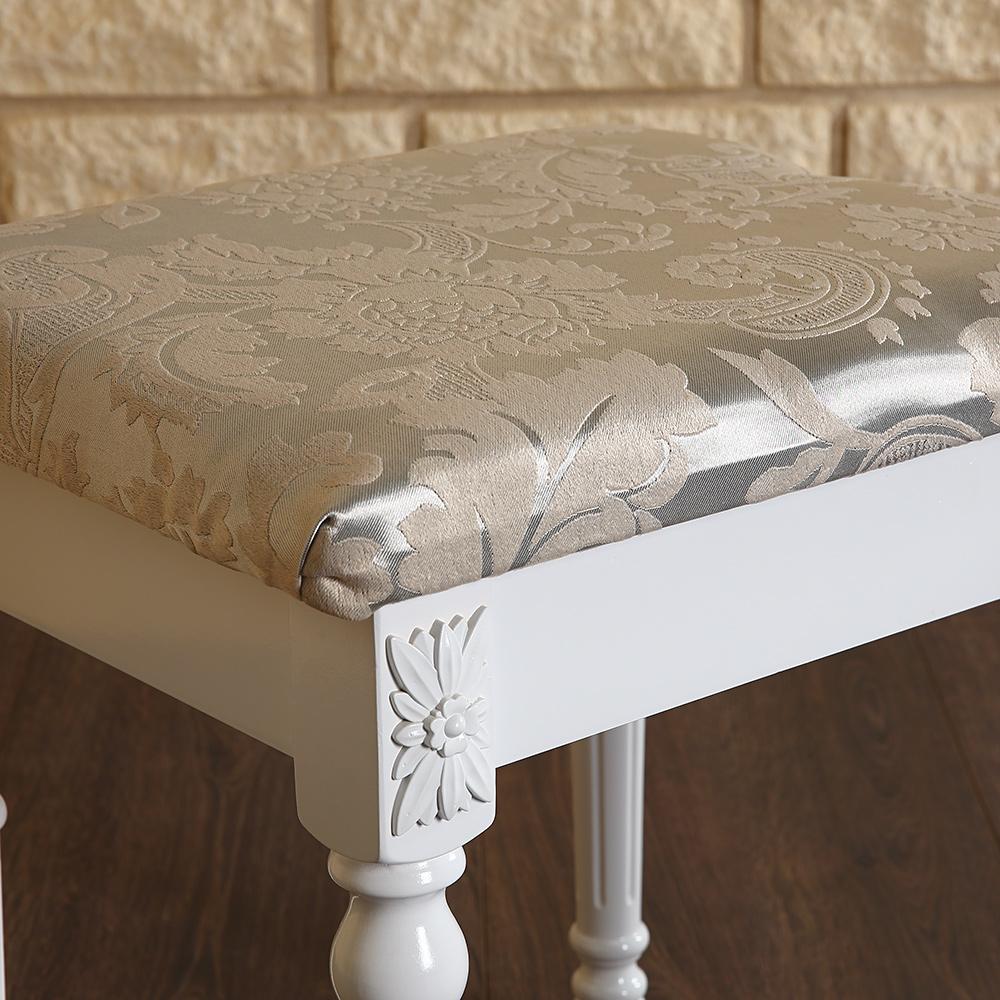 schminktisch hocker spiegel frisierkommode frisiertisch. Black Bedroom Furniture Sets. Home Design Ideas