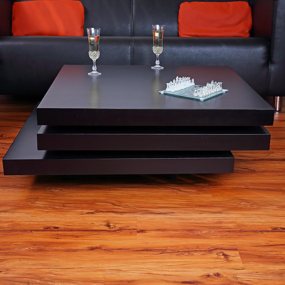 couchtisch beistelltisch wohnzimmertisch tisch designertisch schwarz eckig 3tlg ebay. Black Bedroom Furniture Sets. Home Design Ideas