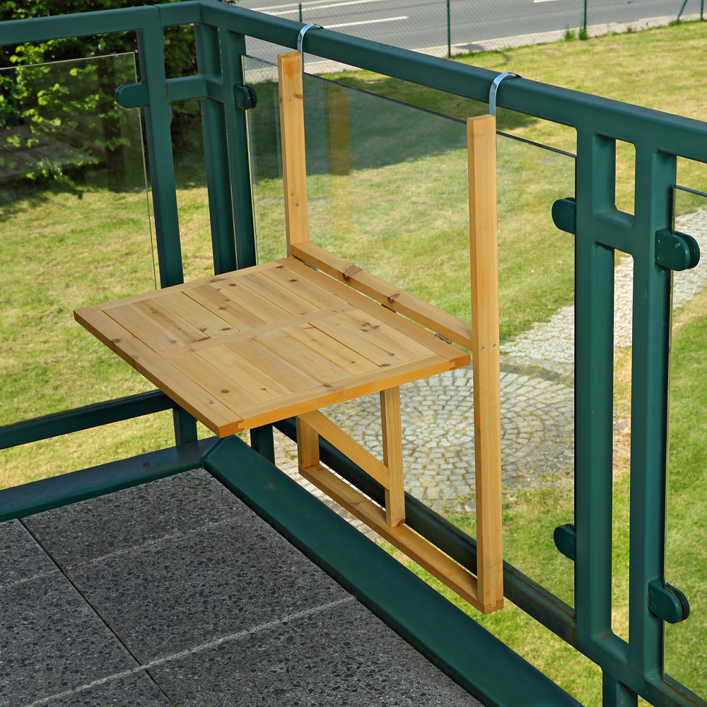 wandtisch bois table de balcon table pliante table suspendue jardin table pliante table balk ebay. Black Bedroom Furniture Sets. Home Design Ideas