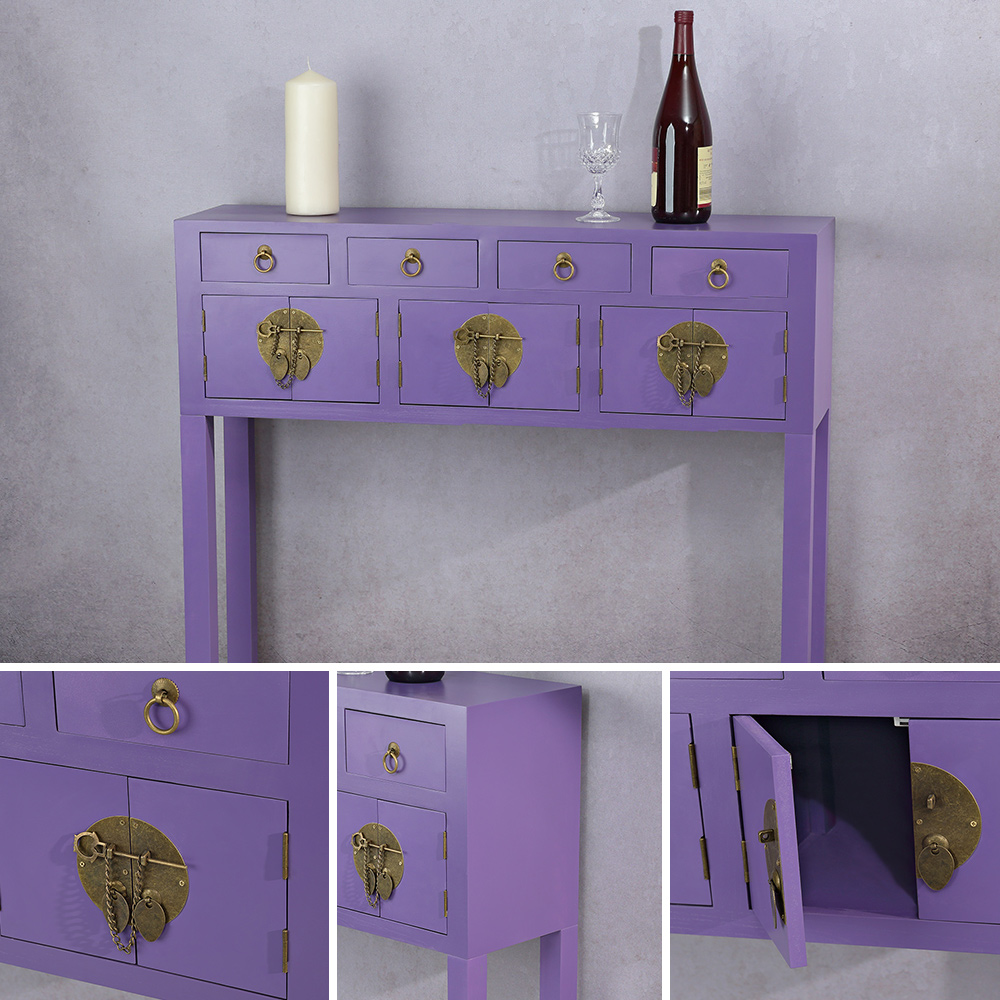sideboard schreibtisch antik inkl schubladen kommode. Black Bedroom Furniture Sets. Home Design Ideas