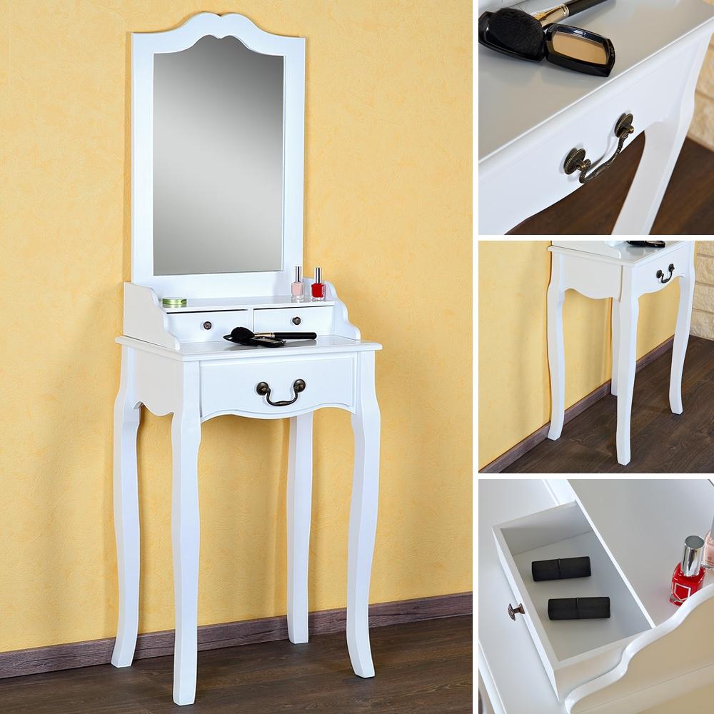 Frisiertisch Ohne Spiegel schminktisch spiegel frisierkommode frisiertisch kosmetiktisch klein