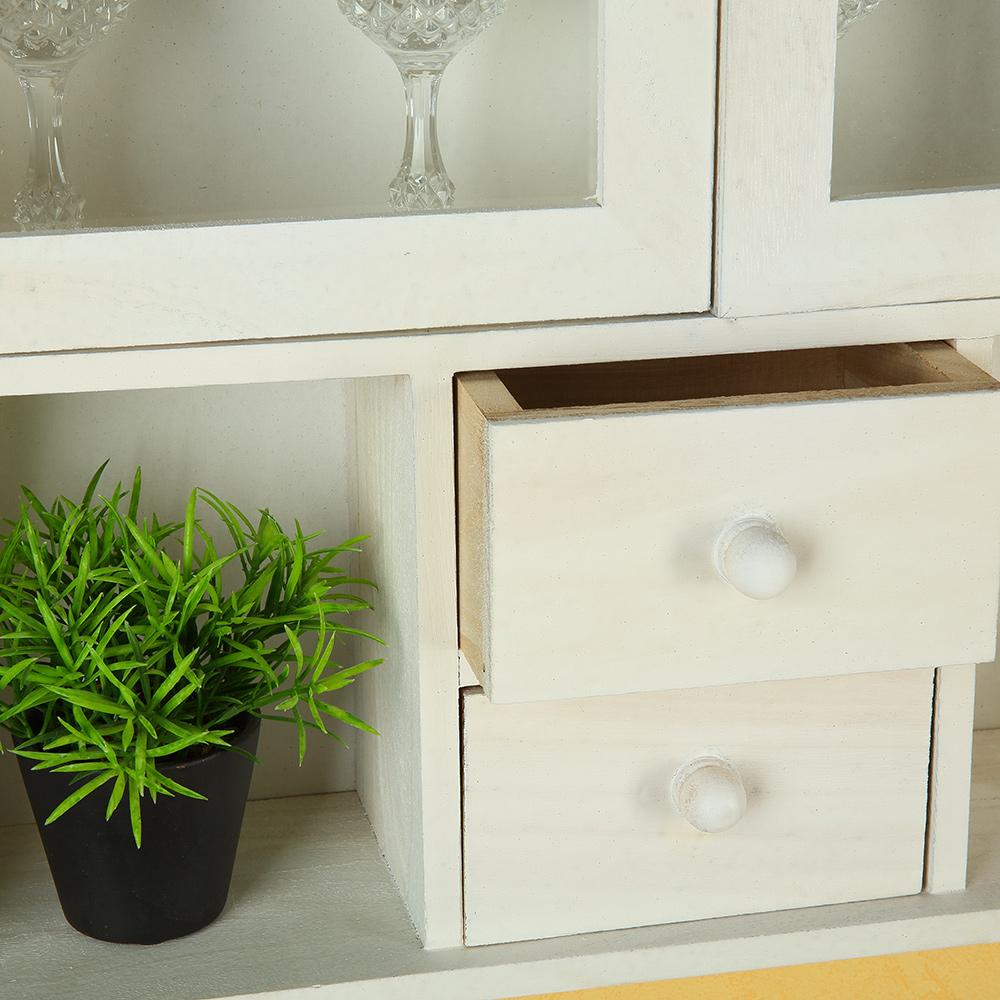 regal vitrine wandregal wandschrank schrank landhausstil. Black Bedroom Furniture Sets. Home Design Ideas