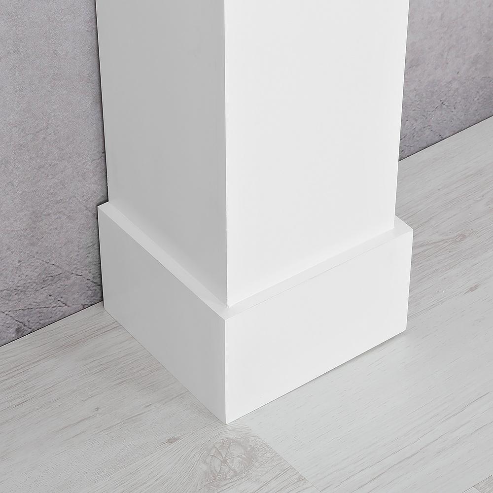 antiker dekokamin attrappe aus holz kaminumrandung kaminverkleidung kaminkonsole ebay. Black Bedroom Furniture Sets. Home Design Ideas