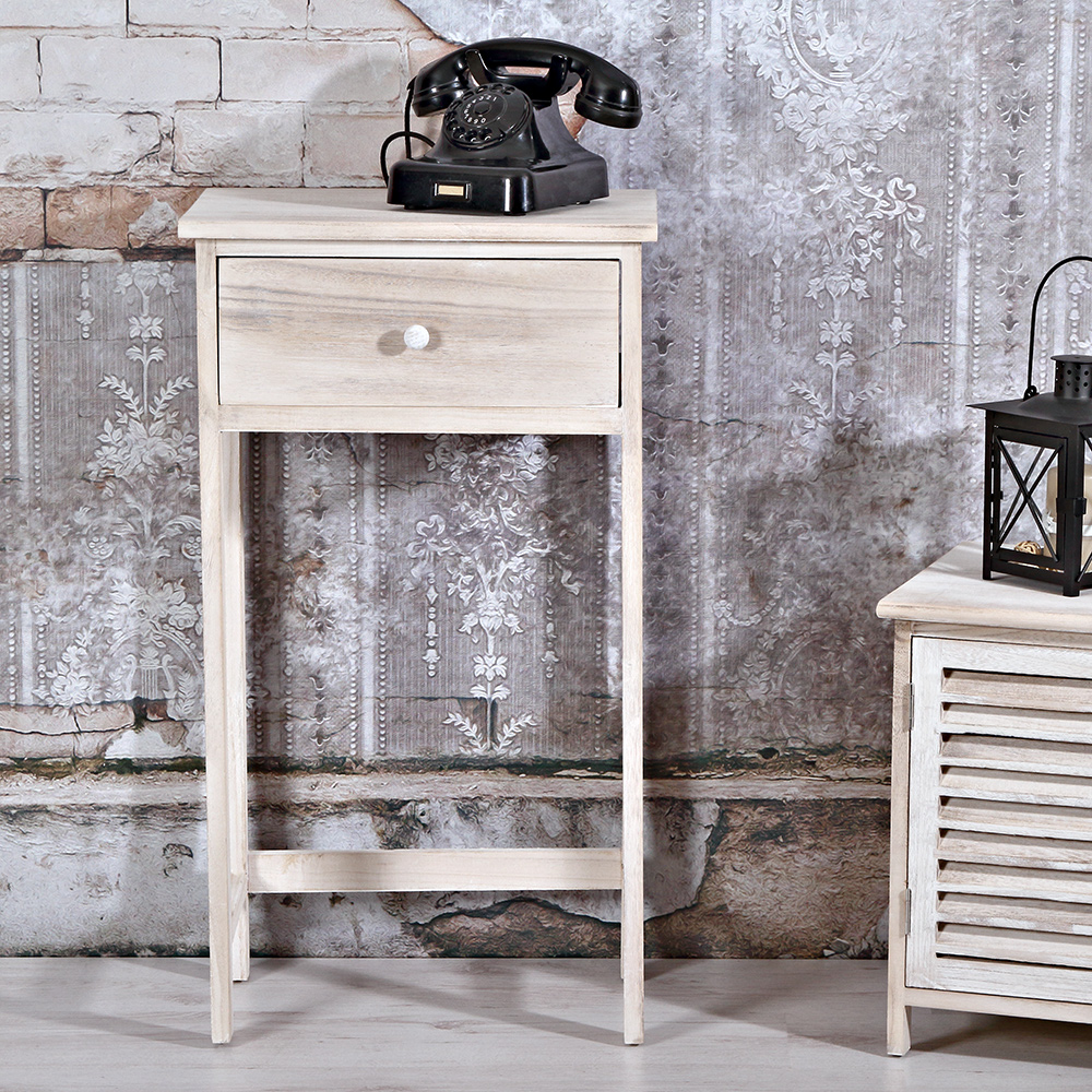 highboard telefontisch mit schublade anrichte hochregal. Black Bedroom Furniture Sets. Home Design Ideas